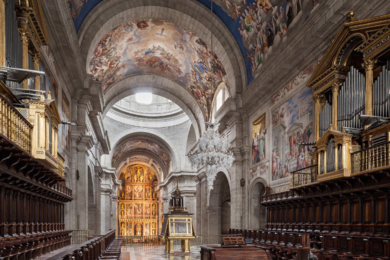 Conciertos de órgano en El Escorial