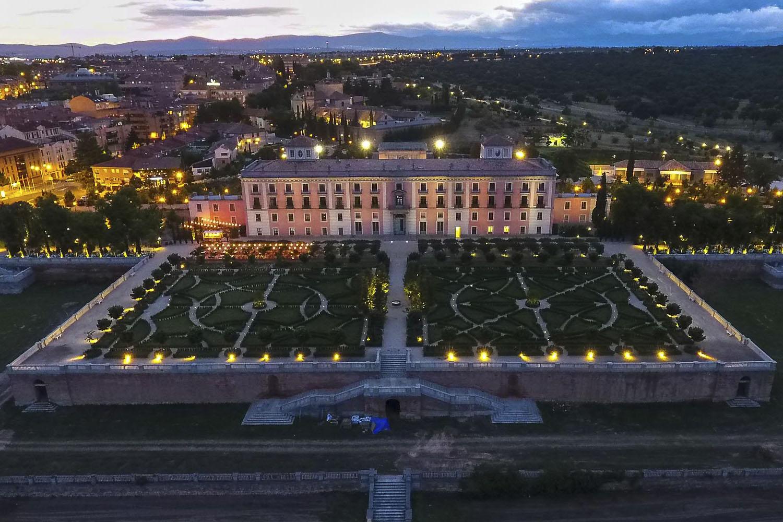 Apertura del Jardín del Palacio del Infante Don Luis