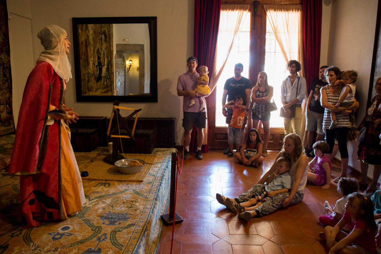 Representaciones teatrales en el Castillo de Manzanares El Real